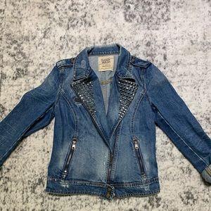Studded Zara jean jacket